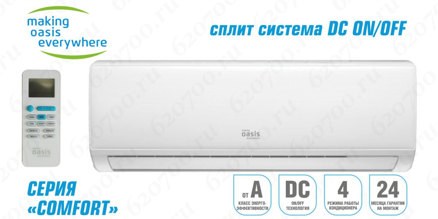Сплит-система OASIS OT-18